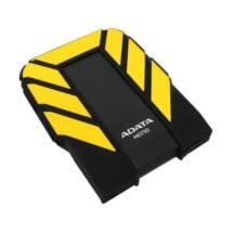 """ADATA 2.5"""" HDD USB 3.0 1TB 5400rpm 8MB Portable Sárga, HD710 ütésálló"""