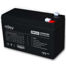 APC (NJOY) Akkumulátor 12V/7Ah zárt, gondozásmentes AGM T2