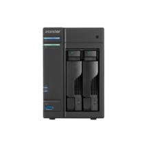 ASUSTOR NAS Storage 2 fiókos AS6202T 4x1,6Ghz, 4Gb RAM, 2x10/100/1000 2xUSB 2.0, 3xUSB 3.0, 2xeSATA