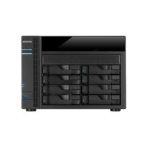 ASUSTOR NAS Storage 8 fiókos AS5008T 2x2,41Ghz, 1Gb RAM, 4x10/100/1000, 2xUSB 2.0, 3xUSB 3.0, 2xeSATA