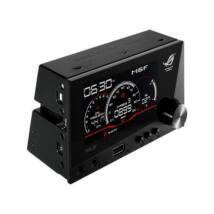 """ASUS Előlapi kivezetés ROG, 4"""" LCD, 1x USB 2.0, 1x fejhallgató kimenet, 1x mikrofon bemenet (2x 5.25"""")"""