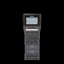 BROTHER Cimkenyomtató PT-H500, kézi, QWERTY billenytűzet, TZe szalag: 3,5-24mm, 30mm/sec, háttérvilágítású grafikus LCD