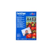 BROTHER Fotópapír BP71GA4, Prémium fényes fotópapír (A4 / 20 lap / 260g/m2)