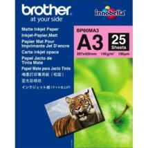 BROTHER Fotópapír BP60MA3, 25db/csomag