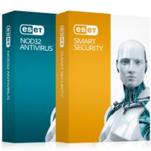 ESET Adatvédelmi SW NOD32 SMART SECURITY 1 USER, 1 év Box
