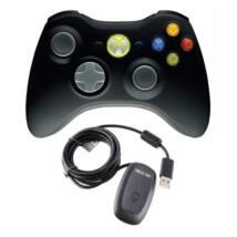 MS Játékvezérlő Vezeték Nélküli Gamepad Xbox 360/PC Fekete