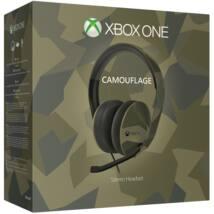MS Játékvezérlő Xbox One Stereo Headset Camouflage