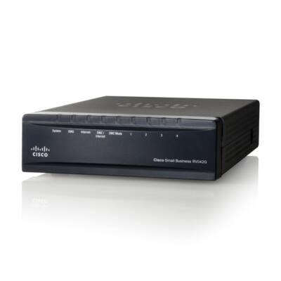 CISCO Vezetékes Router Gigabit Dual WAN VPN